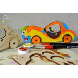3D модель-розмальовка «Автомобіль»