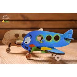 3D модель-розмальовка «Аероплан»