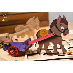 3D модель-розмальовка «Віслючок»