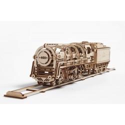 Механічний локомотив з тендером «UGEARS 460»