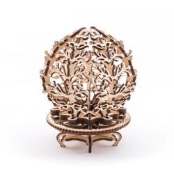 Механічний 3D пазл «Квітка-скринька»