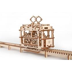 Механічна модель пазл «Трамвайчик»